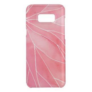 Red Marble Watercolour Break Uncommon Samsung Galaxy S8  Case