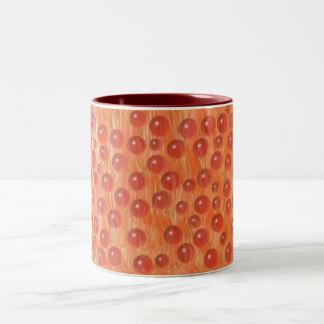 red marbles brag! mug