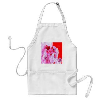 Red Mardi Gras Queen of Hearts by Sharles. Aprons