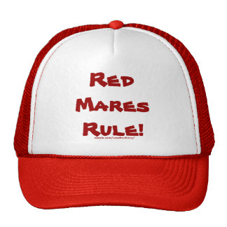 Red Mares Rule! Trucker Hats