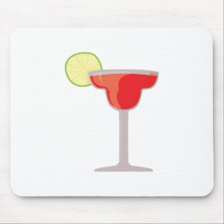 Red Margarita Mouse Pad