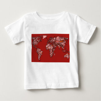 Red maroon atlas baby T-Shirt
