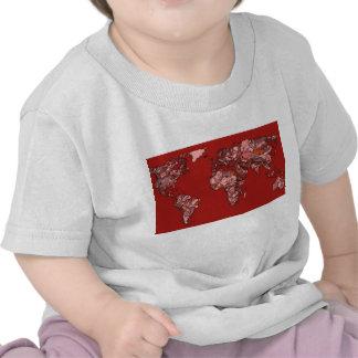 Red maroon atlas shirts