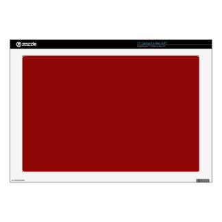 Red maroon decal for laptop