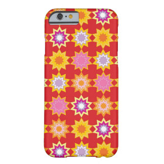 Red Marrakesh Stars Art Pattern iPhone CaseMate Barely There iPhone 6 Case
