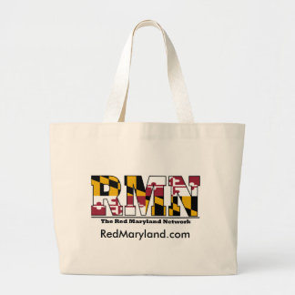 Red Maryland Tote Bag