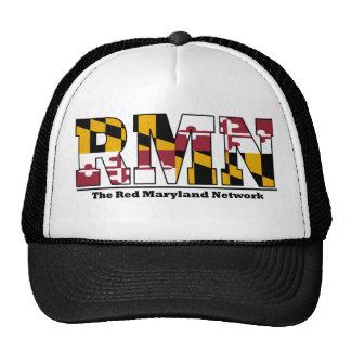 Red Maryland Trucker Hat