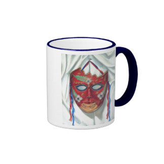 Red Mask Coffee Mug