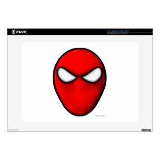 "Red Mask Skins For 15"" Laptops"
