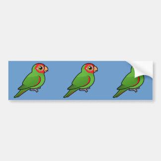 Red-masked Parakeet Bumper Sticker