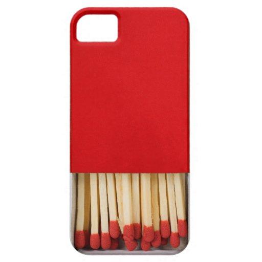 Red Matchbox iPhone SE/5/5s Case