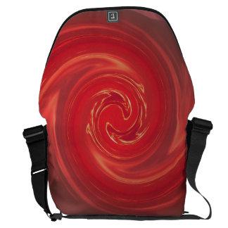 Red Mating Phoenix I SDL Bag 1 Messenger Bags