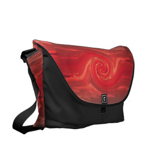 Red Mating Phoenix II SDL Bag 1 Courier Bags