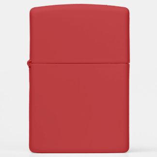 Red Matte Zippo Lighter