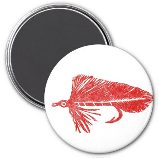 """Red Matuka Streamer"" Classic Trout Dry Fly Magnet"