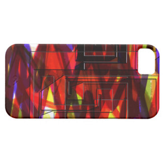 Red Maze iPhone Case iPhone 5 Cover