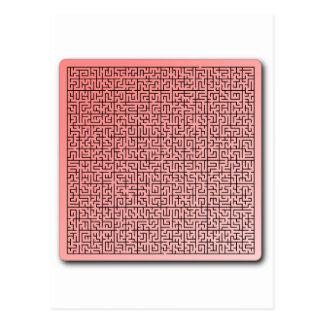 Red Maze Postcards