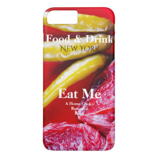 Red Meat & Chilly Pepper Home Cook Book Styled iPhone 7 Plus Case