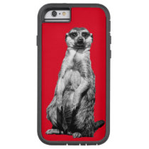 Red Meerkat Tough Xtreme iPhone 6 Case