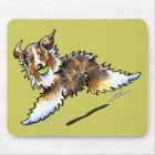 Red Merle Australian Shepherd Lets Play Mouse Pad
