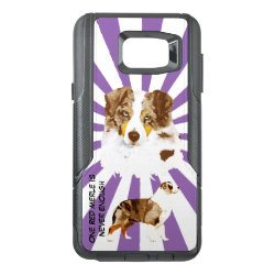OtterBox Commuter Samsung Note 5 Case with Australian Shepherd Phone Cases design