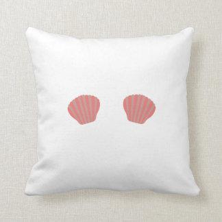 Red Mermaid Bikini Pillow