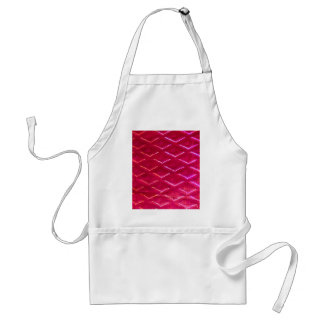 Red Merry Christmas Pretty Sparkle Magic Design Adult Apron