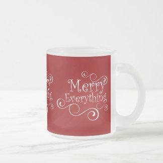 Red Merry Everything Coffee Mug