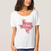 Red Merry Texmas Y'all Texas Christmas T-Shirt