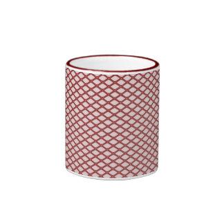 Red Mesh Mug
