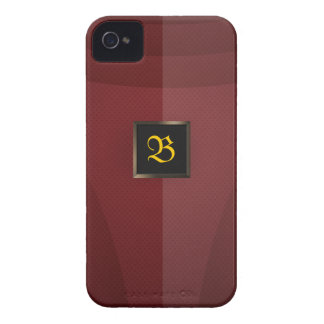 Red Metal iPhone 4 Case