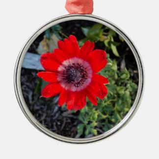 Red Metal Ornament