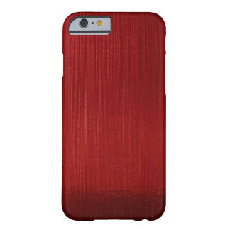 Red Metalline Sheen Barely There iPhone 6 Case