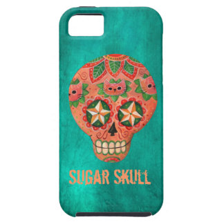 Red Mexican Sugar Skull iPhone 5 Cover