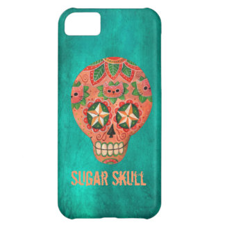 Red Mexican Sugar Skull iPhone 5C Case