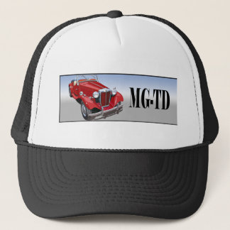 Red MG TD Trucker Hat