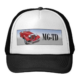 Red MG TD Trucker Hats