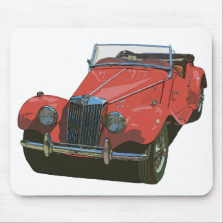 Red MG TF Mouse Pad