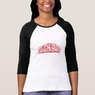 Red Michigan Tshirts