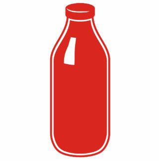 Red Milk photo sculpture