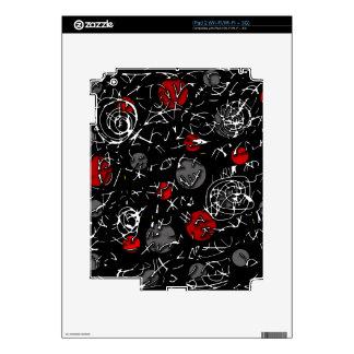 Red mind iPad 2 skins