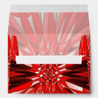 Red mineral envelope