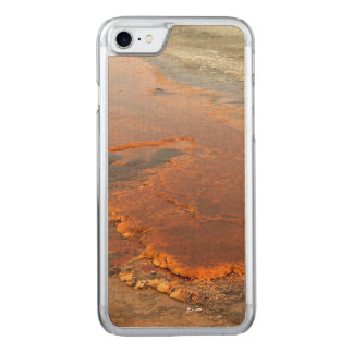 Red Mineral Water Yellowstone Park Carved iPhone 7 Case