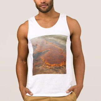 Red Mineral Water Yellowstone Park Tank Top