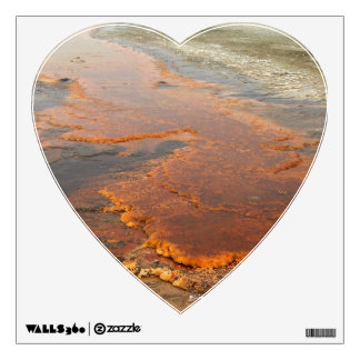 Red Mineral Water Yellowstone Park Wall Sticker