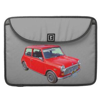 Red Mini Cooper Antique Car MacBook Pro Sleeve