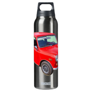 Red Mini Cooper Antique Car SIGG Thermo 0.5L Insulated Bottle