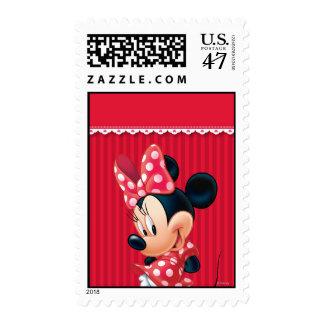 Red Minnie 4 Postage