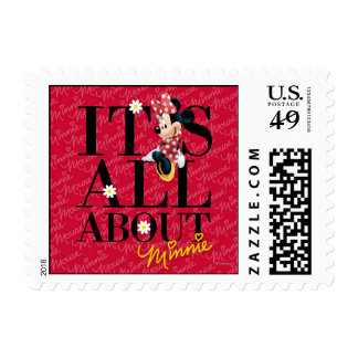 Red Minnie | All About Me Postage