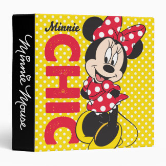 Red Minnie | Chic Binder